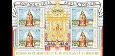 2016 Santissima Vergine Maria Patrona della Città - Lussemburgo - minifoglio