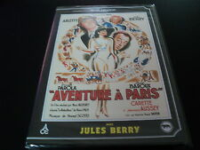 "DVD NEUF ""AVENTURE A PARIS"" Arletty, Jules BERRY / RENE CHATEAU"