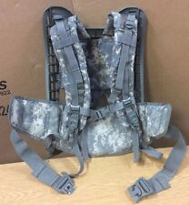 Used ACU Digital Camo USGI Molle II Frame , Belt and Shoulder Straps COMBO