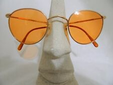 Vintage sunglasses 60's Optical Affairs 8550 Pantos Gold color Made in France