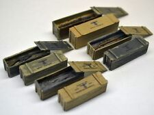 Reality In Scale 35193 German weapons boxes 1:35 scale resin diorama accessory
