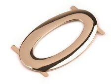 1 x Rose Gold Metal Buckle/Ornament For Bag Belt Dressmaking 37x60mm