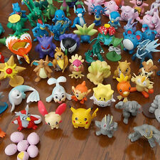 24pcs Mixed Pokemon Pikachu Monster Mini Pearl Figures Kids Toy Random Best Gift