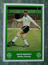 DERBY COUNTY - DAVE MACKAY - RETRO FATHERS DAY 'FOOTBALL CARD' / GIFT TAG