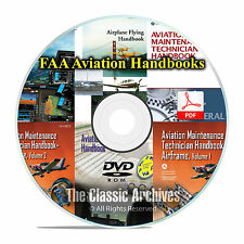FAA Pilot's Handbooks, Aviation Maintenance Technician Mechanic Books DVD CD F14