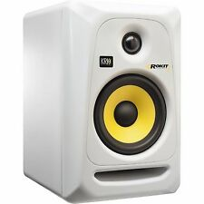 "KRK ROKIT 5 G3 WHITE 2-WAY ACTIVE STUDIO MONITOR SPEAKER ""NEW IN BOX"""