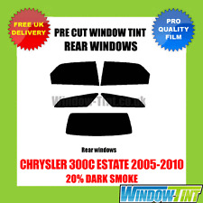 CHRYSLER 300C ESTATE 2005-2010 20% DARK REAR PRE CUT WINDOW TINT
