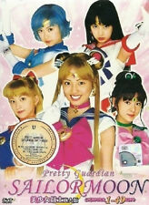 Sailor Moon Live Action Pretty Guardian (TV 1 - 49 End) DVD + FREE DVD