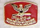 Hat Lapel Tie Tac Pin 2nd Amendment Cold Dead Fingers N