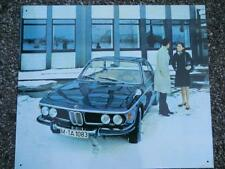 Altes Blechschild Oldtimer BMW Coupe Werbung Reklame gebraucht used