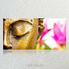 Buddha zen QUADRO MODERNO QUADRI STAMPA TELA POSTER SPA BENESSERE FIORE LOTO