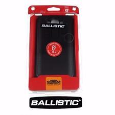 New Ballistic LG V10 Tough Jacket Slim Protective Case Cover - Black / Black