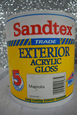 Sandtex Long Lasting Exterior Acrylic Gloss Mongolia Paint 2.5L