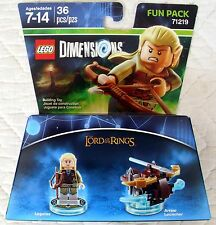 LEGO DIMENSIONS FUN PACK 71219 - LORD OF THE RINGS - LEGOLAS & ARROW LAUNCHER