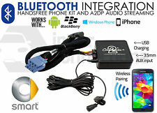 Coche Smart Bluetooth streaming llamadas de manos libres ctamsbt001 Usb Aux Iphone Samsung