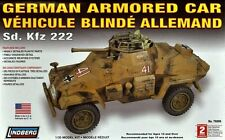 1/35 German Armored Car SD.KFZ 222 lindberg model Kit  76006 FREE SHIPPING
