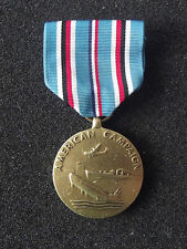(A19-063) US Orden WWII American Campaign Medal