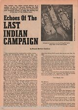 Echoes Of The Last Indian Campaign+Buckskin Joe,Crazy Horse,Lone Wolf,Red Cloud