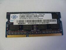 NANYA 2GB 2Rx8 PC3-10600S DDR3 Laptop Memory RAM NT2GC64B8HC0NS-CG (K12-15)