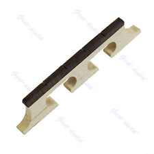 Three Legged  Maple And Ebony Bridge For 4 String Banjo Ukulele