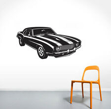 Old Retro Car Wall Decal Artistical Pattern Home Decoration Bedroom Living Room