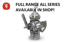 Lego minifigures heroic knight series 9 (71000) unopened new factory sealed