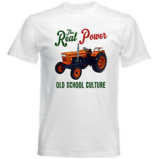 VINTAGE FIAT 750 TRACTOR - NEW COTTON T-SHIRT