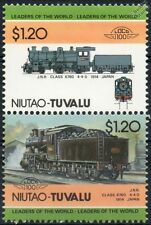 1914 JNR Class 6760 4-4-0 (Japanese National Railways) Train Stamps / LOCO 100