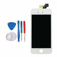 NEW WHITE APPLE IPHONE 5 5G REPLACEMENT TOUCH SCREEN DISPLAY MD655LL/A + TOOLKIT