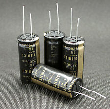 4 Pcs Japan ELNA 2200UF/16V  SILMIC II Series High-END HIFI Audio Capacitor CAP