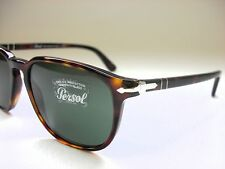 NEW AUTHENTIC PERSOL PO3019S 24/31 HAVANA/CRYSTAL GREEN 55mm SUNGLASSES