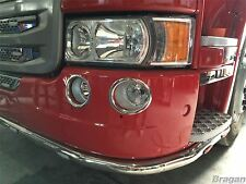 Scania P / G / R / R 2009+ 6 Series Fog Lamp Chrome Trims Surround