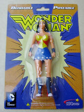 Wonder Woman Figure Bendable Poseable DC Comics  by  NJ Croce New