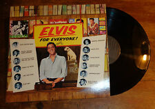 Elvis Presley record album Elvis For Everyone