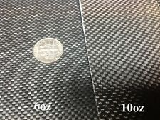 "Black Fiberglass (Carbon Fiber Look) Cloth Fabric Plain Weave  38"" 6oz Style3733"