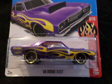 HW HOT WHEELS 2017 HW FLAMES #8/10 '68 DODGE DART  HOTWHEELS PURPLE VHTF