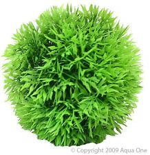 Aqua One A1-28094 Plastic Plant Hair Grass Ball 9cm For Aquarium & Terrarium