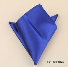 SUIT POCKET HANKERCHIEF BLUE (BRAND NEW) 23cm x 23cm