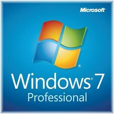 Windows 7 Professional  64 Bit DVD + Lizenzkey Win 7 Pro OEM Deutsch