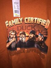 NEW DUCK DYNASTY T SHIRT YOUTH LARGE L
