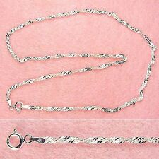 Sterling Silver - 22 Inch 3mm Singapore Chain (CH008L22)