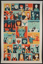 The Game Of Thrones Poster by Dave Perillo Screenprint edition of 50 HBO series