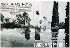 Coupure de presse Clipping 2004 (6 pages) Lance Armstrong