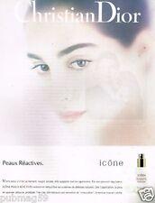 Publicité advertising 1990 Cosmétique crème Christian Dior