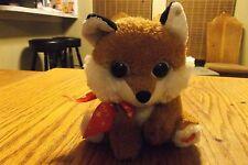little stuffed fox