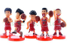 5PCS Slam Dunk Sakuragi Hanamichi Anime Cartoon Action Figures Doll Free ship