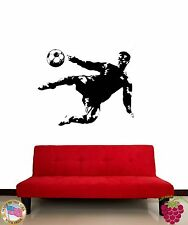 Wall Stickers Vinyl Decal Soccer Sport Athlete Ball FIFA UEFA z1067