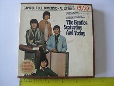 The Beatles Yesterday And Today Capitol YT 2553 Reel to Reel Tape Free Shipping
