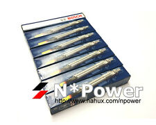BOSCH GLOW PLUG SET 8 FOR TOYOTA Landcruiser VDJ79 1VD-FTV V8 4.5L Turbo 3.07-15