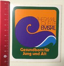 Aufkleber/Sticker: Thermal Quelle Emstal-Gesundborn Für Jung Und Alt (090416132)